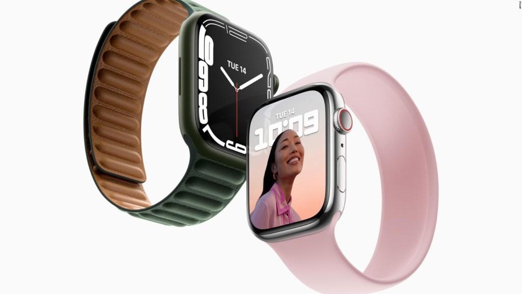 Mira el nuevo Apple Watch Series 7 que Apple presentó
