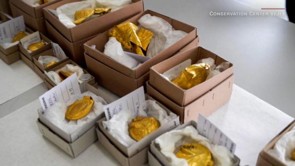 Aficionado encuentra un kilo de oro bajo la tierra