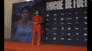 """Yalitza Aparicio asiste al estreno de """"Noche de fuego"""""""