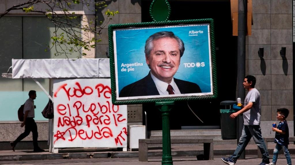 Javier Milei advierte crisis en el Gobierno de Fernández