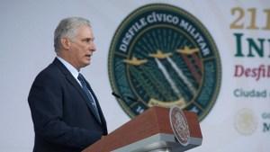 Díaz-Canel señala bloqueo de EE.UU. durante la pandemia