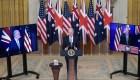 EE.UU., Reino Unido y Australia anuncian nueva alianza trilateral