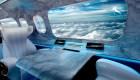 Las ventanas virtuales serían el futuro de la aviación