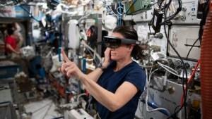 Así se usa la realidad virtual y aumentada en el espacio