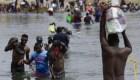 Migrantes de Haití instalan campamentos en Ciudad Acuña