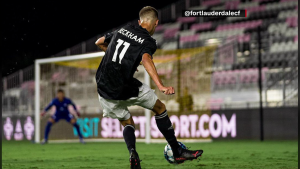 """David Beckham exige """"mano dura"""" con su hijo en el equipo filial del Inter Miami"""