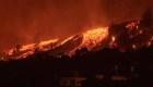 Las imágenes más impactantes del volcán en La Palma