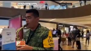 Centro comercial se vuelve escenario para el Ejército