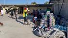 Haitianos que desistieron de cruzar a EE.UU. arman campamento en México