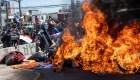 Desalojan campamento de inmigrantes venezolanos en Chile
