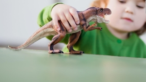 ¿Por qué los niños se obsesionan con los dinosaurios?