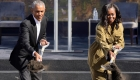Obama inaugura las obras de su centro como expresidente