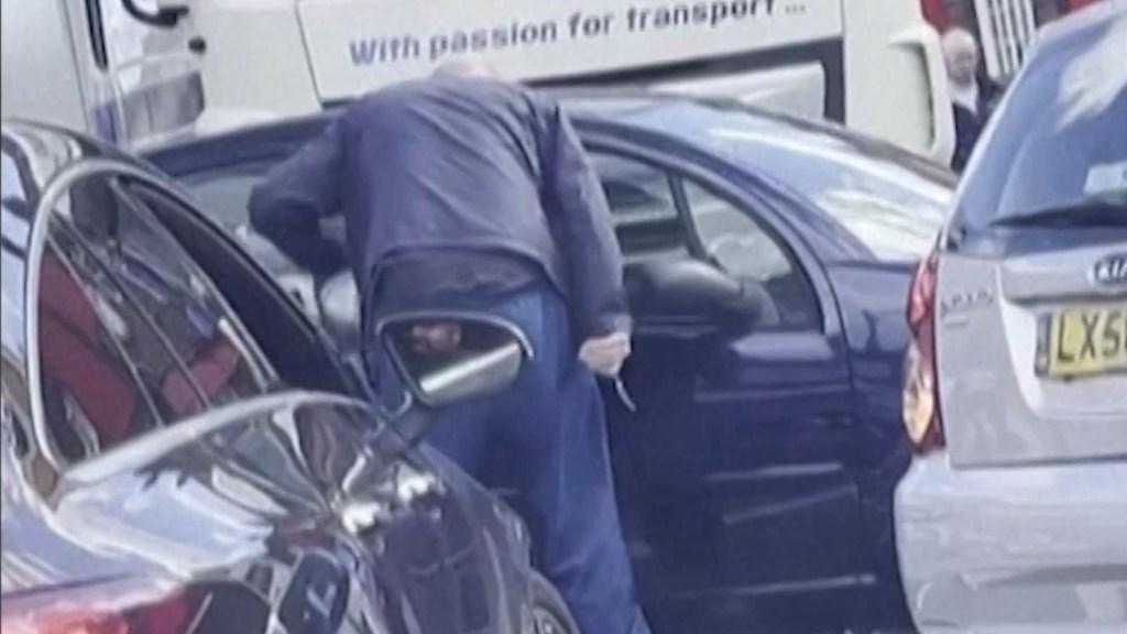 Saca cuchillo a hombre que intentó colarse por gasolina