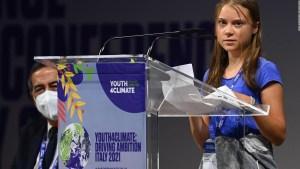Greta Thunberg lanza peculiar crítica a líderes políticos