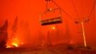 Aquí las historias de evacuados por incendios en Nevada