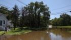 Estas son las imágenes de Nueva Jersey bajo el agua