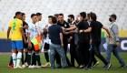 ¿Cómo podría definirse el resultado entre Brasil y Argentina tras el partido que se suspendió?