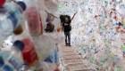 Muestra con plásticos alerta sobre contaminación marina