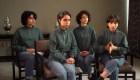 El mensaje de las jóvenes afganas refugiadas en México