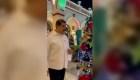Maduro presenta la Navidad en el palacio de Miraflores