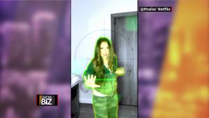 """Thalía se suma al reto de """"El juego del calamar"""""""