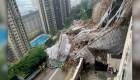 Desplome de andamio deja un muerto en Hong Kong