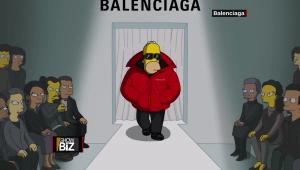 """""""Los Simpson"""", en las pasarelas de París"""