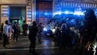 Violentas protestas antivacunas en Roma