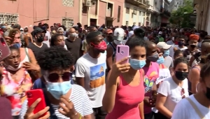 Líder social cuenta lo difícil de manifestarse en Cuba