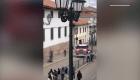 Los Transformers se dejan ver en las calles de Cusco