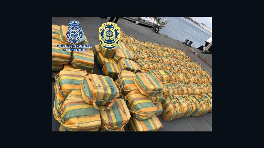 Incautan 5,2 toneladas de cocaína en Europa