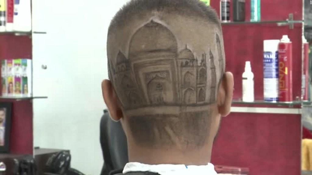Más que barberos, ellos son artistas de la afeitadora
