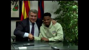 Ansu Fati tendrá contrato con el Barcelona hasta 2027