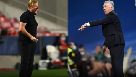 Entrenadores de Barcelona y Real Madrid, enfocados en el Clásico