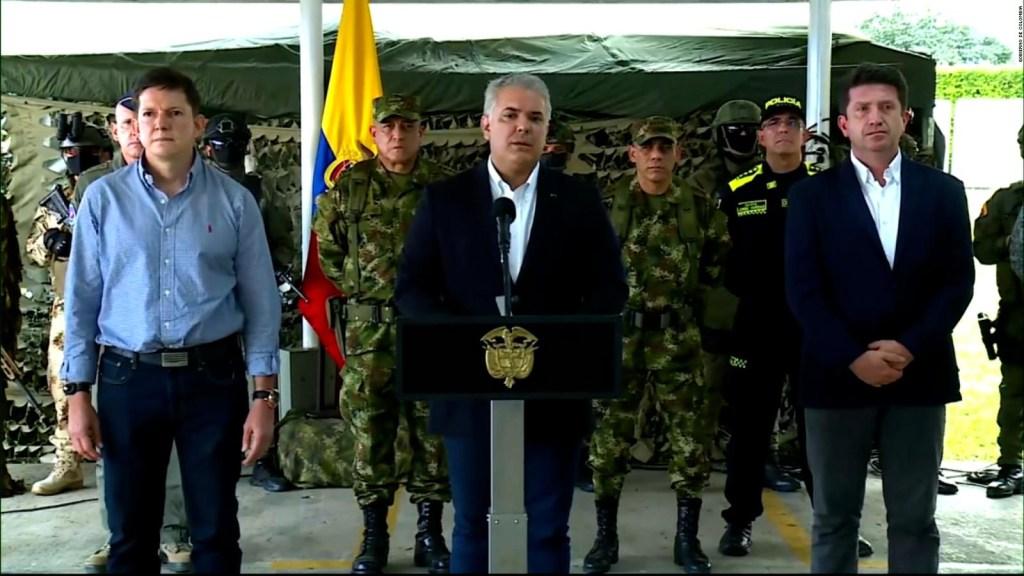 """Duque dice que captura de alias """"Otoniel"""" es comparable con la de Pablo Escobar"""