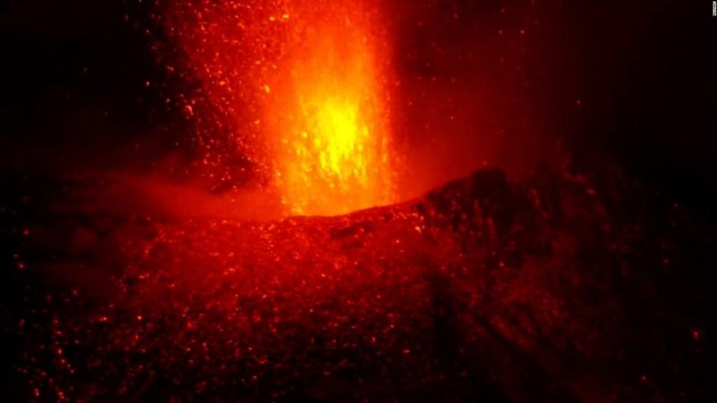 Nueva actividad volcánica en La Palma