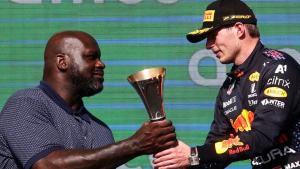 Shaq, el invitado especial en el Gran Premio de EE.UU.