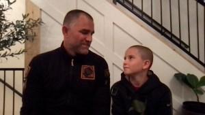 Las palabras de un niño sobreviviente al cáncer tras el regalo de Tom Brady