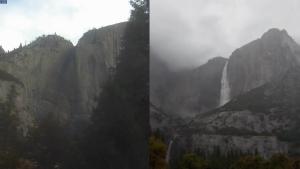 Así resurgieron las cataratas de Yosemite tras intensas lluvias