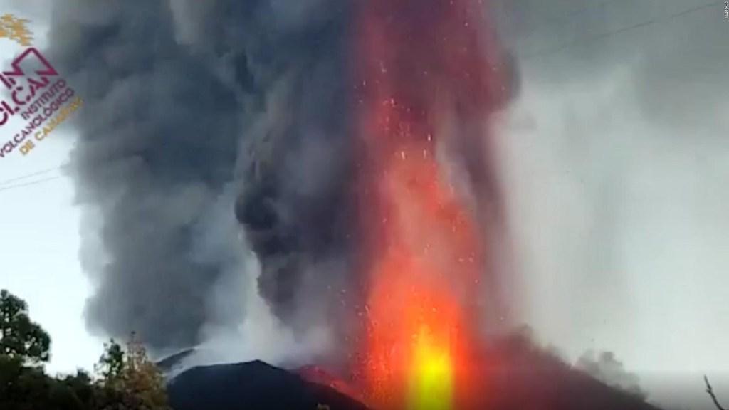 La furia del volcán de La Palma se intensifica en el día 38