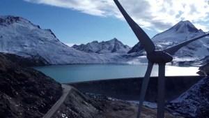 El cambio climático en glaciares suizos visto por un dron