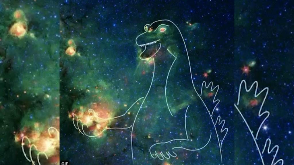 ¿Por qué vemos un Godzilla en el espacio?