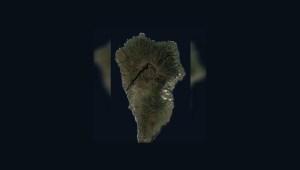 Así se ha apoderado la lava de la isla La Palma
