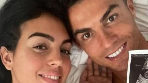 Cristiano Ronaldo y Georgina anuncian que esperan gemelos