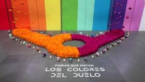 Altar de día de muertos para la comunidad LGBTQ